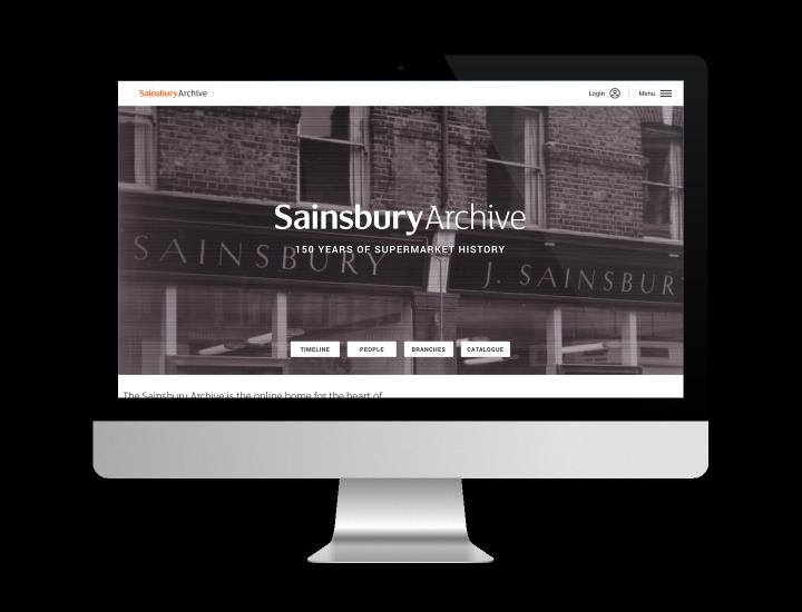 Sainsbury Archive homepage